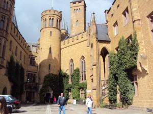 hohenzollern courtyard