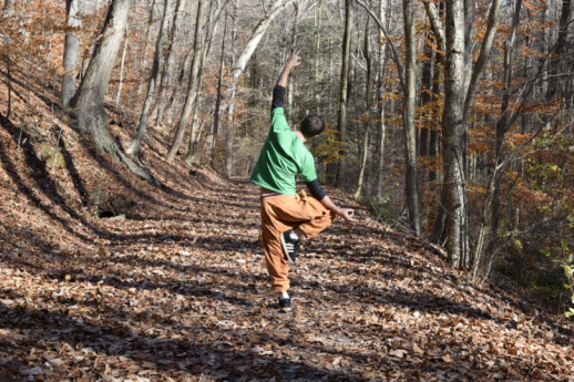 Yoga David Tree Pose